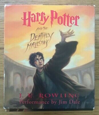 harry potter and the deathly hallows jim dale