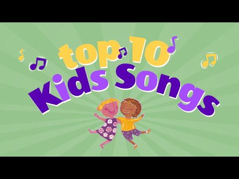popular childrens song artists