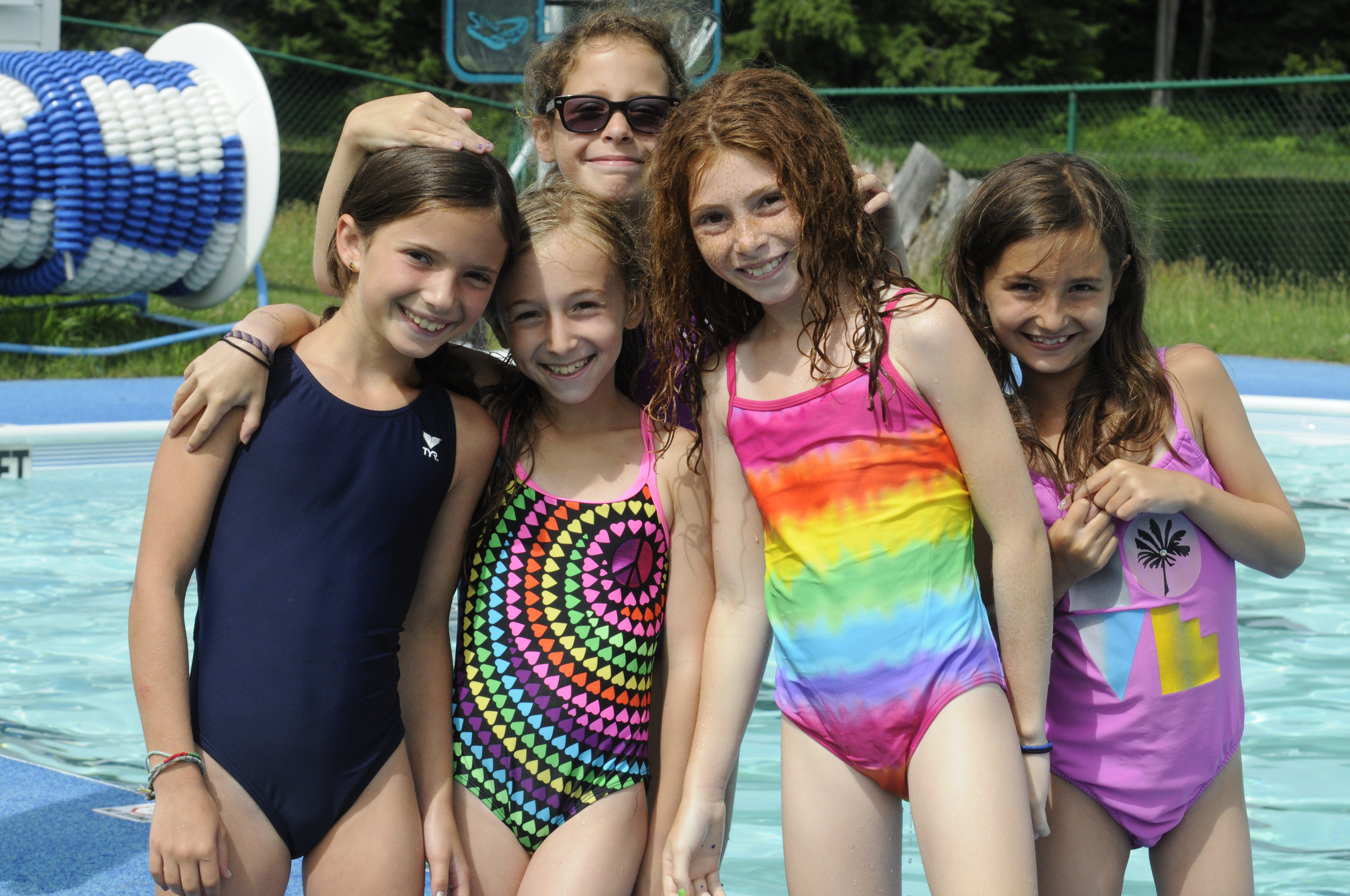 young girls summer camp